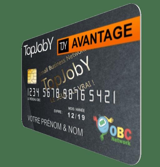Carte Avantage TopJobY