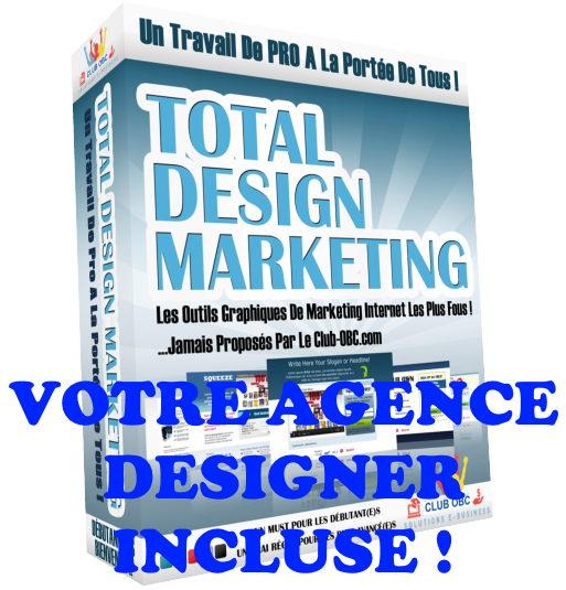 AGENCE TOTAL DESIGN MARKETING Suite